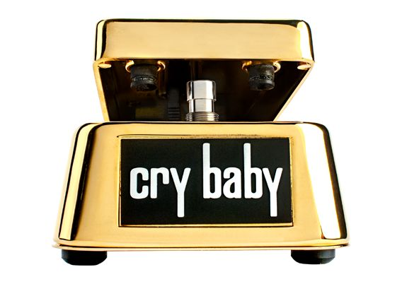 Dunlop 50th Anniversary Cry Baby Wah Gold Pre-Order