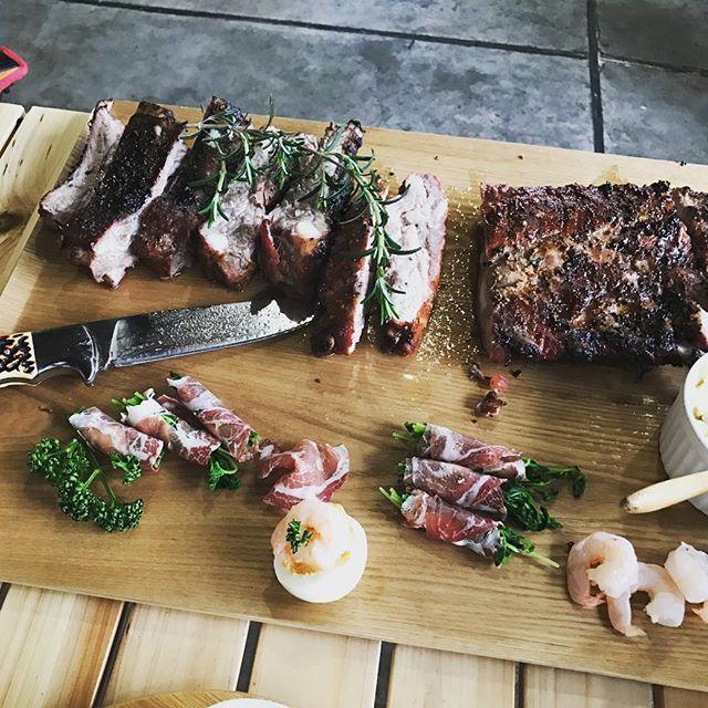 暑い日が続きますね〜 夏バテしないようにやっぱり肉🍖ですね  笑 #バーベキュー#肉#サルサ#ダッチオーブン料理 #キャンプ#ビール#AKITA #ウェイバー