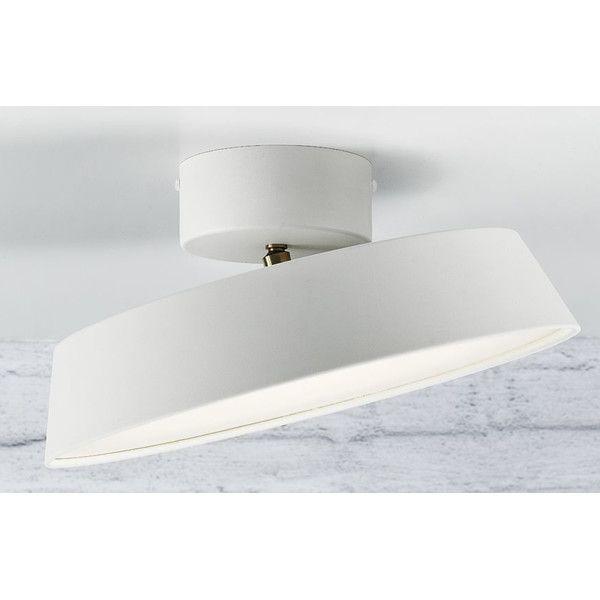 Shop Wayfair.co.uk For Your Alba 1 Light LED Semi Flush Ceiling. Flush  Ceiling Lights UkLiving Room ... Part 83