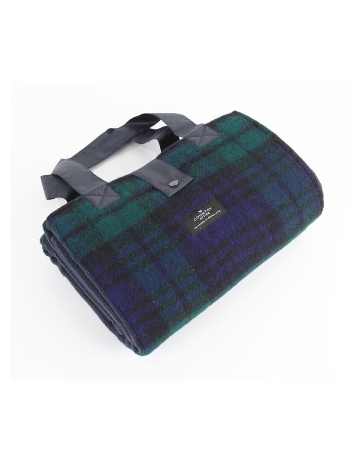 Country Attire Leisure Picnic Rug - Black Watch