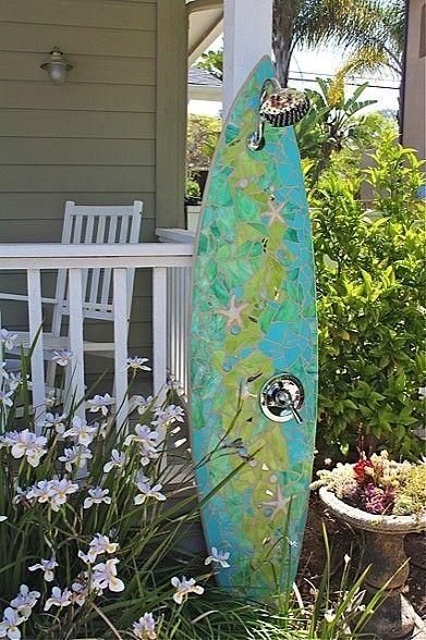 Custom Surfboard Shower Solana Beach, CA