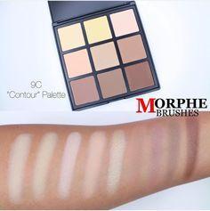 #morphe #contour #contouring #9C #morphebrushes #contourpalette
