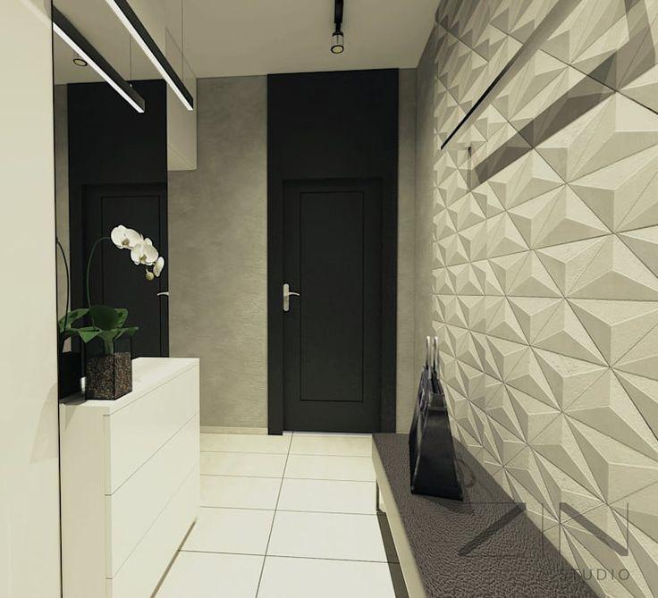 Projekt mieszkania: styl , w kategorii Korytarz, przedpokój zaprojektowany przez ZIN Studio