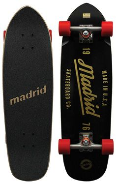 Madrid Shrimp longboard