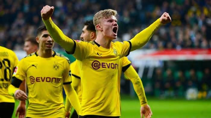 Dortmund Fear Real Madrid S Move For Haaland Get The Latest News For Realmadrid Inside Pinterest On This Boar In 2020 Dortmund Real Madrid Football Real Madrid Goal