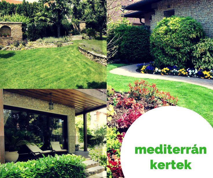 Mediterrán kertek - mediterranean gardens in Hungary  #mediterranean #gardens #mediterrán #kertek #kertelünk