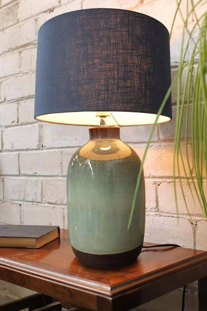 Potter Ceramic Table Lamp in 2020   Ceramic table lamps