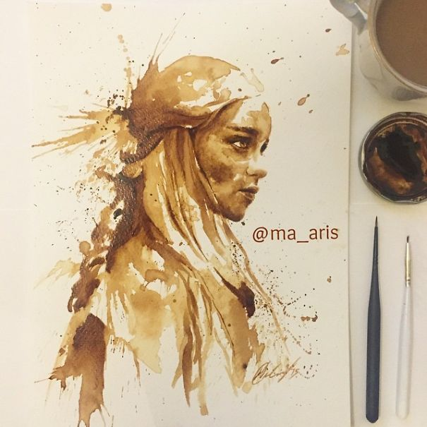 This amazing ART-icle would ultimately prove that 'Coffee' is not just a beverage but something more beautiful? - Viralomia