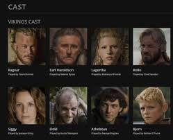 Vikings TV show cast Season 1
