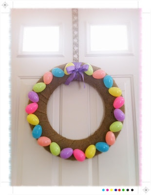 Chevron Patter Easter Wreath: Chevron Patterns, Chevron Easter, Holidays Crafts, Patterns Easter, Easter Wreaths, Easter Eggs, Easter Centerpiece, Eggs Wreaths, Easterwreath