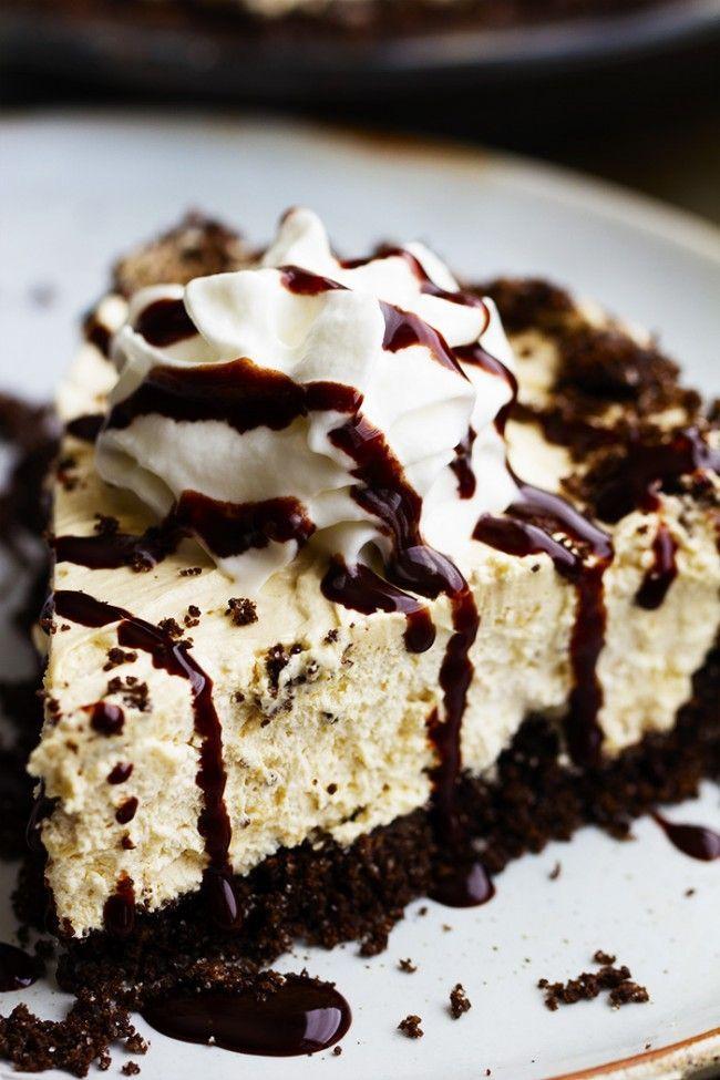 No Bake Cream Cheese Peanut Butter Pie | The Recipe Critic