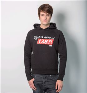 Hoodie Black - Men, Who's Afraid Of 138?! (Hd2013003)