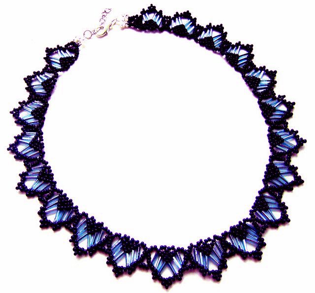 Free pattern for necklace Rani
