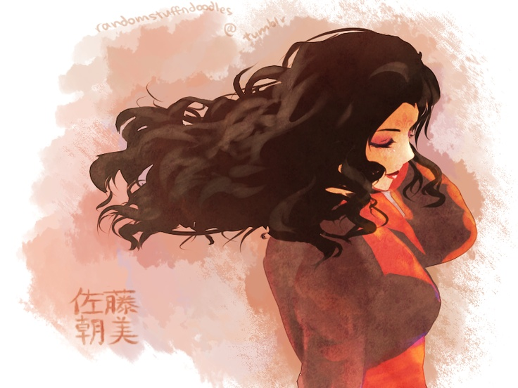 That prissy, beautiful, elegant, rich girl. #Asami