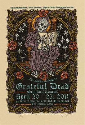 DESIGNER:  Gary Houston    Designer Posters  VENUE:  Marriott Rivercenter And Riverwalk	  San Antonio	  TX  USA       BANDS:  Grateful Dead