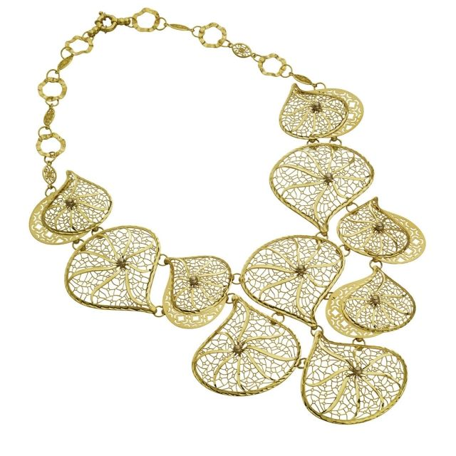 Filigree necklace by Opulent