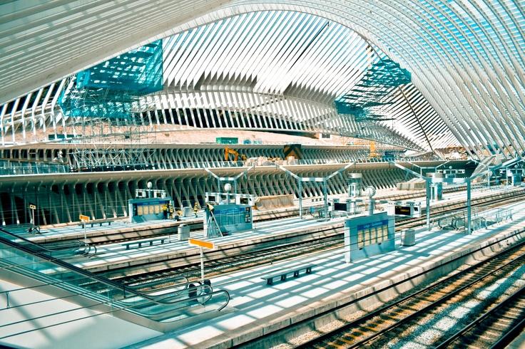 Liege Train Station 2 - Craig Hull
