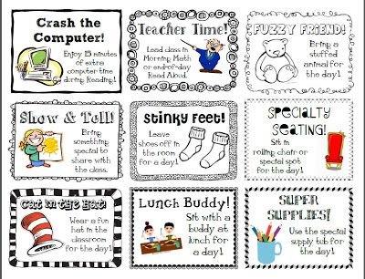 Teacher Trap: freebies. Class rewards
