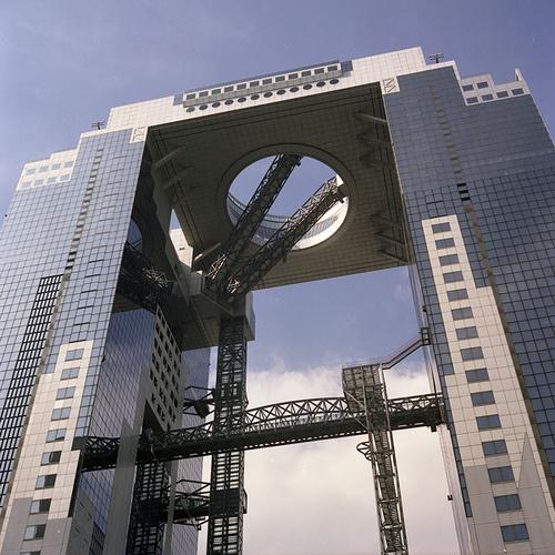 Umeda Sky Building, Osaka, Japan - Hiroshi Hara