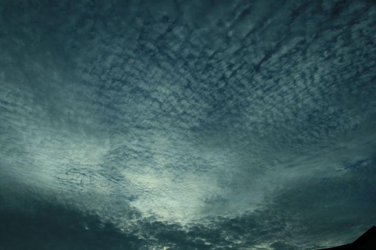 Moonrise through high cloud, NZ