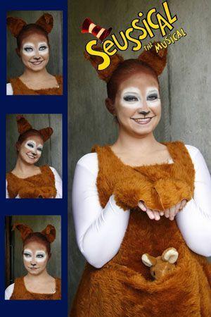Seussical Costumes Sour Kangaroo | Seussical - Sour Kangaroo_theatrical_makeup_trevor_killeen: