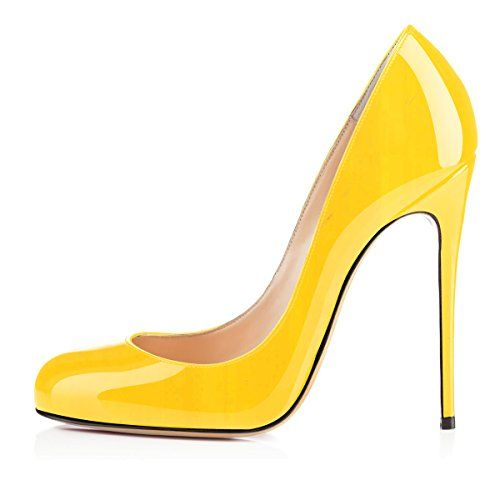 Kolnoo , Hi-Top Slippers femme - jaune - Yellow, 42