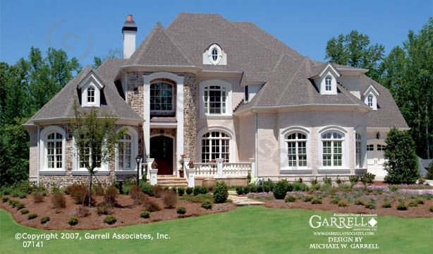 Garrell Associates Inc Brockton Hall House Plan 07141
