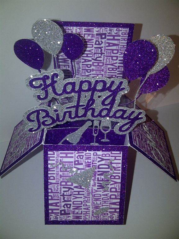 160 best card in a box images on pinterest pop up cards card birthday words cut and outline on cricut bookmarktalkfo Gallery