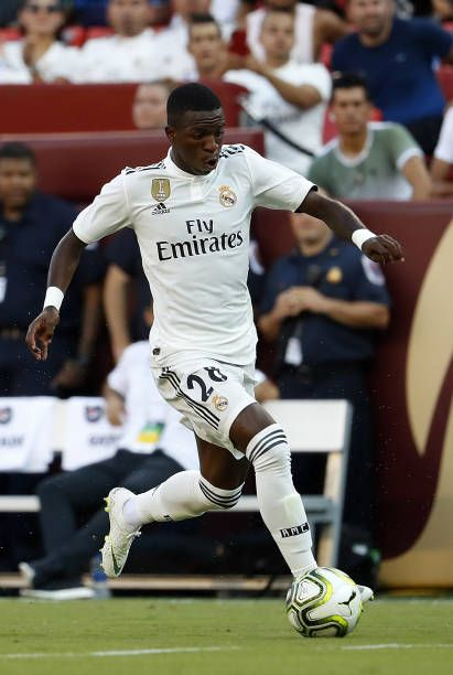 Vinicius Jr of Real Madrid in action during the International ... 26f895a5a267f