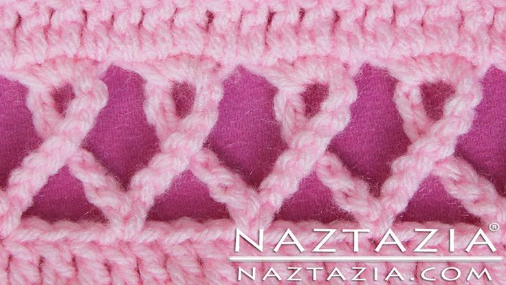 DIY Free Pattern and YouTube Video Tutorial Crochet Pink ...