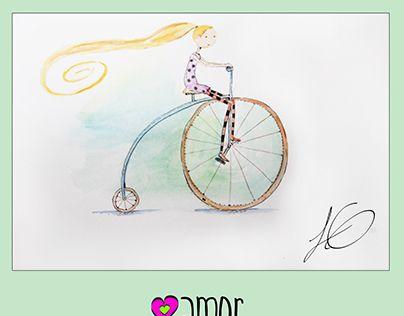 "Check out new work on my @Behance portfolio: ""Amor Bonito Niña en bicicleta"" http://be.net/gallery/51641711/Amor-Bonito-Nina-en-bicicleta"