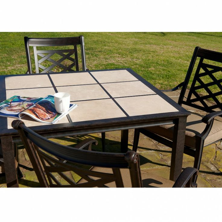 Melton Craft Yarra Chair With Como Table   Outdoor Furniture Gallery |  BBQu0027s U0026 Outdoor