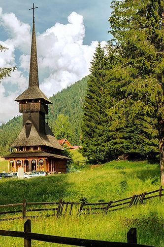 Wood church - Poiana Brasov, Romania