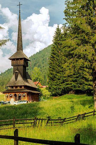 Wooden church - Poiana Brasov