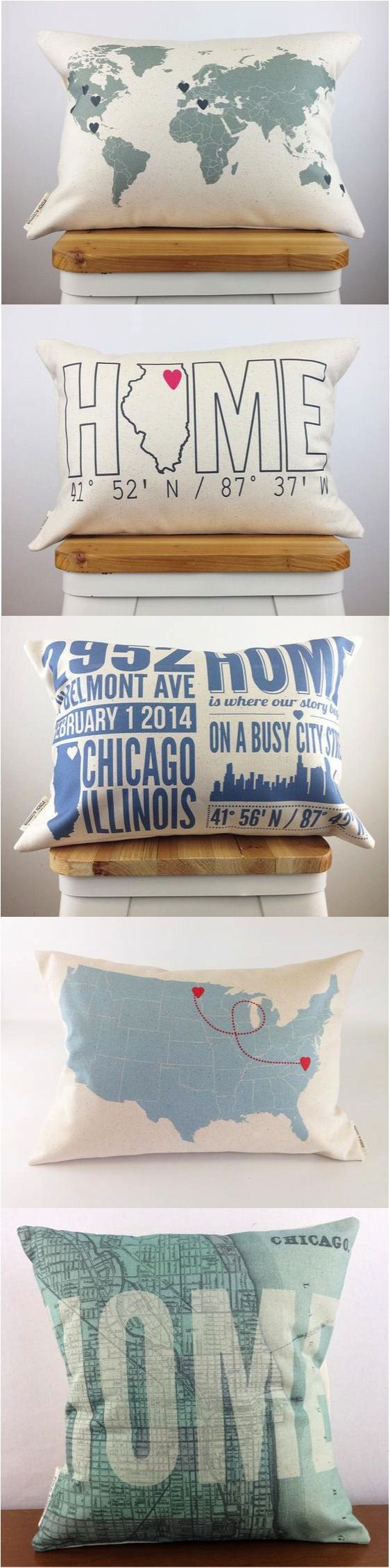 Home is where the custom made, personalized pillow is :) | Made on Hatch