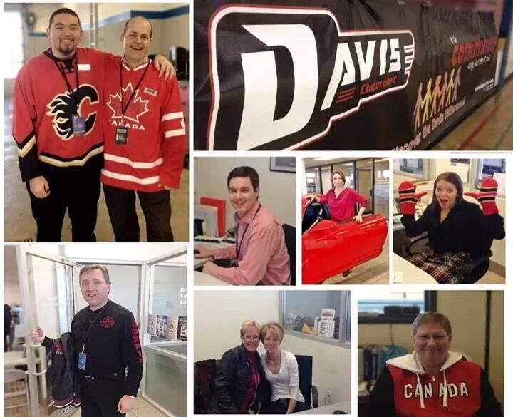 At Davis Chev we are proud supporters of our Sochi Olympic team! #wearewinter #olympics #airdrie