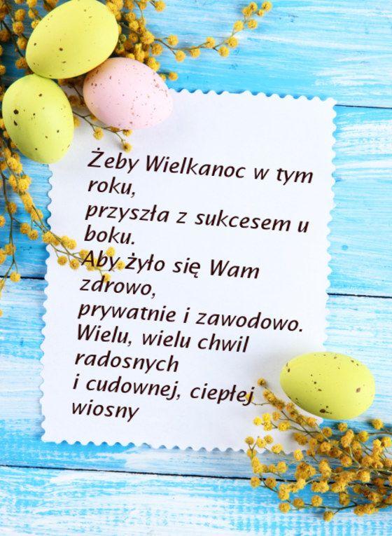 Poznaj kilka propozycji na życzenia na Święta Wielkanocne i i poślij je swojej rodzinie i znajomym. W naszym albumie znajdziesz propozycje śmieszne i religijne...