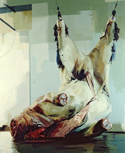 Credit: (c) 2012 Jenny Saville, image courtesy Gagosian Gallery  Torso II, 2005