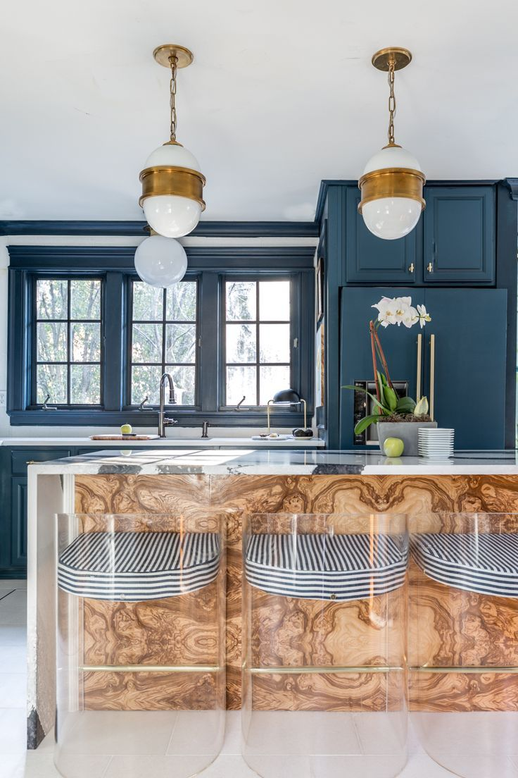 Burlwood Kitchen Island A Unique Yet Stylish Design Element In 2020 Kitchen Interior Home Decor Kitchen Home