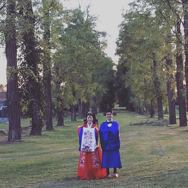 Congratulations to Monica and David! #bdkmintpaebaek #bdkmint #paebaek #bdkmintclientsarethebest #mjjddk #nywedding #폐백 #야외결혼식 #paebak