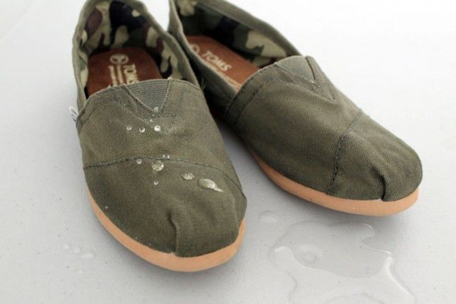 How to waterproof your Toms