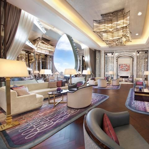 World Best Interior Designer Featuring Hbadesign For More Inspiration See Also Brabbu En Ritz Carlton Galaxy Macau HBADesign50