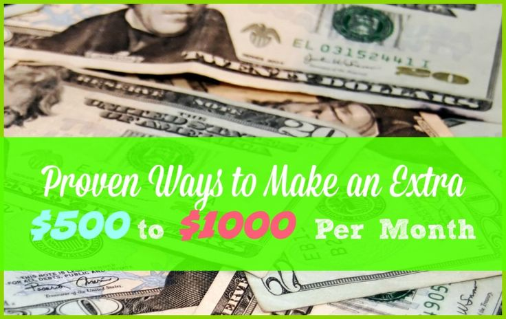 Proven ways to make at least $500 extra each month...all rather simple home business ideas that most people can do at home. Read 7 Ways to Make Extra Money Every Month => http://www.whatmommydoes.com/7-ways-to-make-an-extra-500-1000-per-month