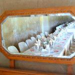Table view through mirror