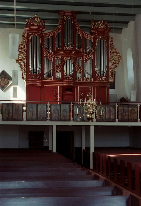 Hage, St. Ansgari, Lohmann-Orgel