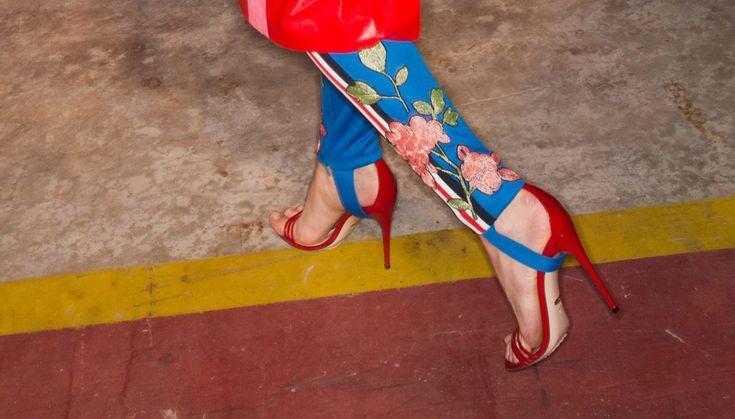 Ноги от Gucci: 90-е возвращаются?