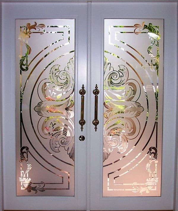10 Latest Pooja Door Glass Designs With Pictures In 2020 ...