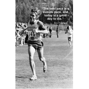 Steve Prefontaine Cross Country Cloth Running Poster