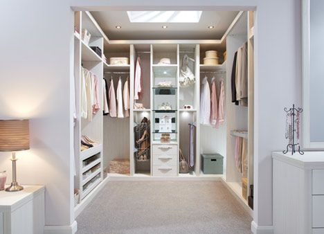 Ultimo Pearl finish - We can take your walk-in wardrobe ideas to create a room of unsurpassed elegance