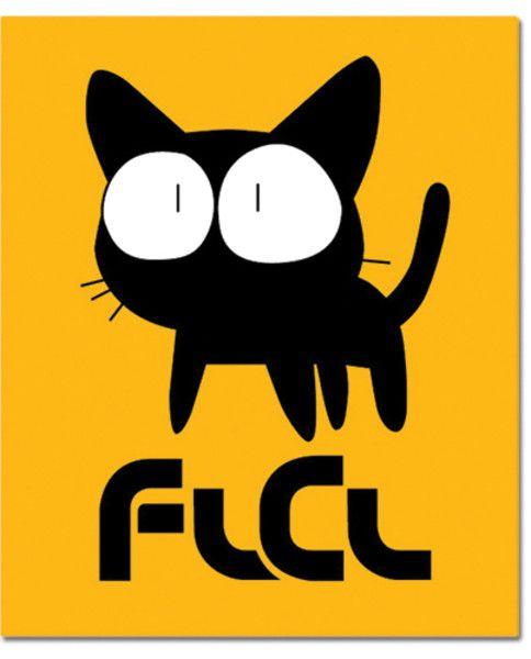 FLCL Throw Blanket: Takkun (50 x 60 in)
